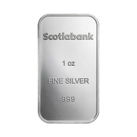 1 oz Scotiabank Silver Bar