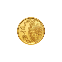 1/10 oz Goldmünze - Fünf Segen - RCM 2014