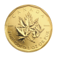 1 oz 2007 Royal Canadian Mint 99999 Gold Coin