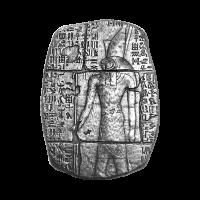 3 oz Monarch Precious Metals Egyptian Relic Series | Silver Bar