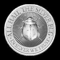 2 oz Silver Bug | Lady Bug High Relief Silver Round