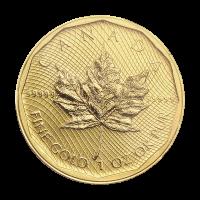 Moneda de Oro 99999 de la Casa de la Moneda Real Canadiense 2009 de 1 oz