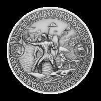 Aventuras de Odiseo | Moneda de Plata Ataque de los Cicones 2018 de 2 onzas