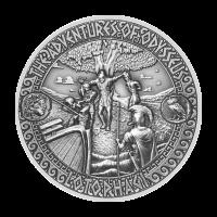 Aventuras de Odiseo | Moneda de Plata Tierra de Lotophagi 2018 de 2 onzas