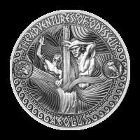 Aventuras de Odiseo | Moneda de Plata Tormenta de Eolo 2018 de 2 onzas