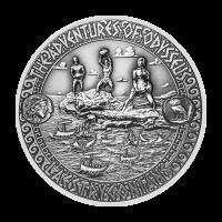Aventuras de Odiseo | Moneda de Plata Escape de los Lestrigones 2018 de 2 onzas