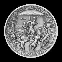 Aventuras de Odiseo | Moneda de Plata Isla Siren 2018 de 2 onzas