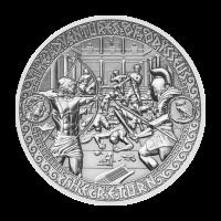 Aventuras de Odiseo   Moneda de Plata El Regreso de Odiseo 2018 de 2 onzas