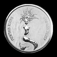 1 oz 2018 Fiji Mermaid Rising Silver Coin