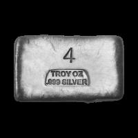 4 oz Assorted Silver Bar