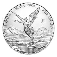 1 oz 2012 Mexican Libertad Silver Coin