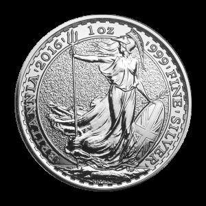 1 oz 2016 Britannia Lunar Year of the Monkey Privy Silver Coin