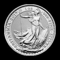 Moneda de Plata Privada Año Lunar del Gallo Britannia 2017 de 1 oz