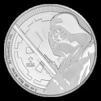 1 oz 2018 Star Wars | Darth Vader Lightsaber Silver Coin