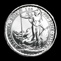 1 oz 2014 Britannia Lunar Year of the Horse Privy Silver Coin
