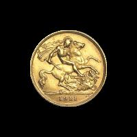 Random Year 1/2 Sovereign Gold Coin