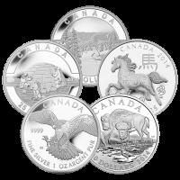 1 oz RCM Assorted Commemorative Silver Coin