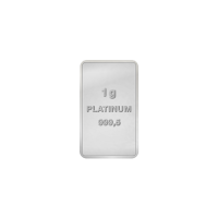 1 gram Assorted Platinum Bar