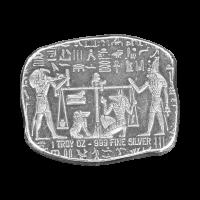 1 oz Monarch Precious Metals Egyptian Relic Series | Anubis Jackal Silver Bar