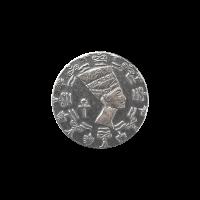 1/10 oz Monarch Precious Metals Egyptian Queen Nefertiti Silver Round