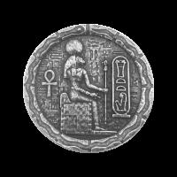 1/2 oz Monarch Precious Metals Egyptian Cat Goddess Bastet Silver Round