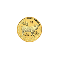 1/20 oz 2019 Perth Mint Lunar Year of the Pig Gold Coin
