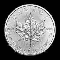 1 oz 2019 Canadian Maple Leaf Silver Coin