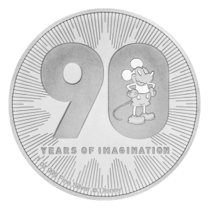1 oz 2018 Disney Mickey Mouse | 90th Anniversary Silver Coin