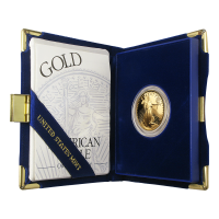 1/2 oz Random Year American Eagle Proof Gold Coin