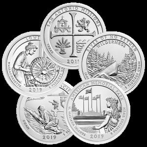 5 oz Random Year America the Beautiful Silver Coin