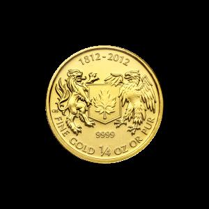 1/4 oz 2012 War of 1812 Gold Coin