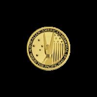 1/10 oz U.S. Australian WWII Gold Coin