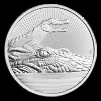 2 oz 2019 Australia Next Generation Series | Crocodile Silver Coin