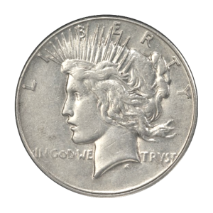 Random Year Peace Silver Dollar Circulated Silver Coin