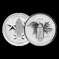 Moneda de plata Brigada del Diablo de 1/2 oz y año aleatorio