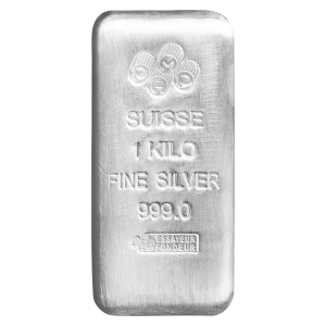 1 kg | kilo PAMP Suisse Silver Bar
