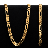 49.6 gram 22 kt Figarucci Style Gold Necklace