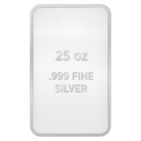 25 oz Assorted Silver Bar