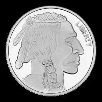 1 oz Silbermedaille Büffel SilverTowne