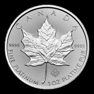 1 oz 2020 Canadian Maple Leaf Platinum Coin