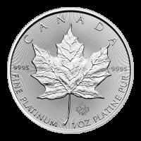 1 oz 2020 Canadian Maple Leaf Platinamynt