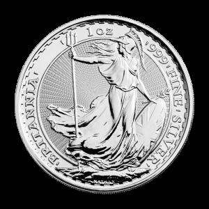 1 oz Random Year Britannia Silver Coin