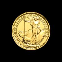 1/4 oz Random Year Britannia Gold Coin