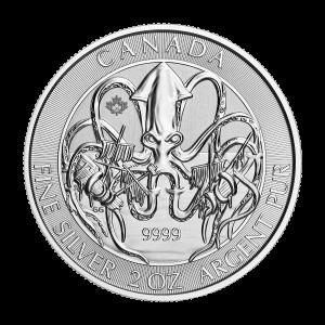 2 oz 2020 Creatures of the North | Kraken Silver Coin