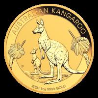1 oz 2020 Australian Kangaroo Gold Coin