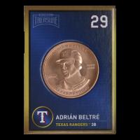 1 oz 2018 Baseball Treasure MLB Copper Round