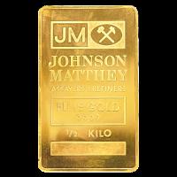 500 g Goldbarren Johnson Matthey
