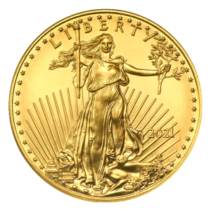 1 oz 2021 American Eagle Gold Coin