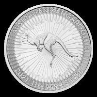 1 oz 2021 Australian Kangaroo Silver Coin