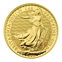1 oz 2021 Britannia Gold Coin